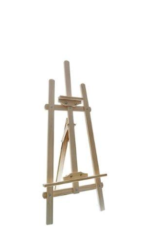 Мольберт напольный деревянный - 0.7 м