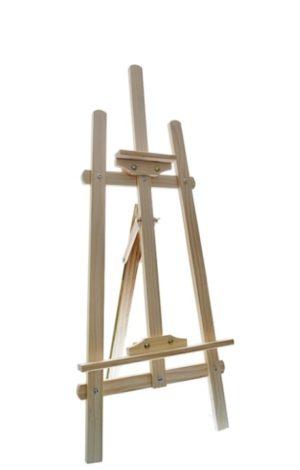 Мольберт напольный деревянный - 1,45 м
